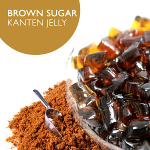 Brown Sugar Kanten Jelly