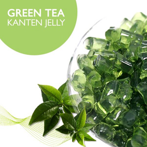 Green Tea Kanten Jelly
